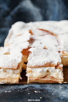 Yummy Polish Cake with a Custard and Whipped Cream Filling!!