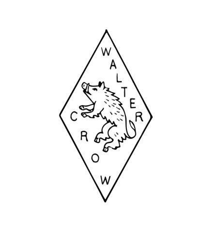 walter crow logotype