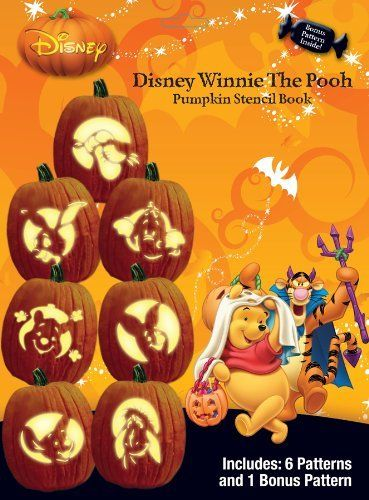 Paper Magic Group Disney's Winnie The Pooh Stencil Book, Pack of 24 by Paper Magic Group. $58.99. Comes in pack of 24. Officially licensed product. Contains: 7 stencil patterns. From the Manufacturer                Have your pumpkin look like it came out of the Hundred Acre Woods with this officially licensed Disney Winnie the Pooh stencil book. Some of the characters includes Winnie the Pooh, Piglet, Tigger to name a few. Includes 7 stencil pattern. Includes pack of 24.