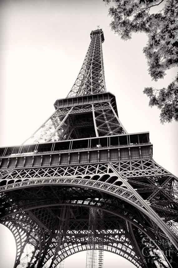 Decoración de París Torre Eiffel fotografía por CrystalOrbitStudios