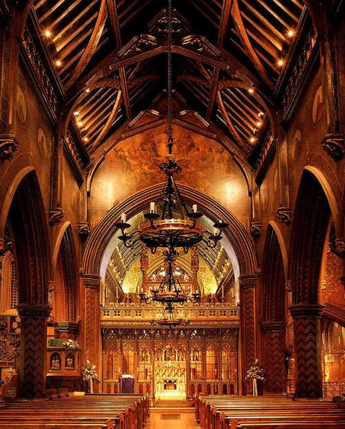 St. Giles Catholic Church, Cheadle, Staffordshire, designed by A W L Pugin