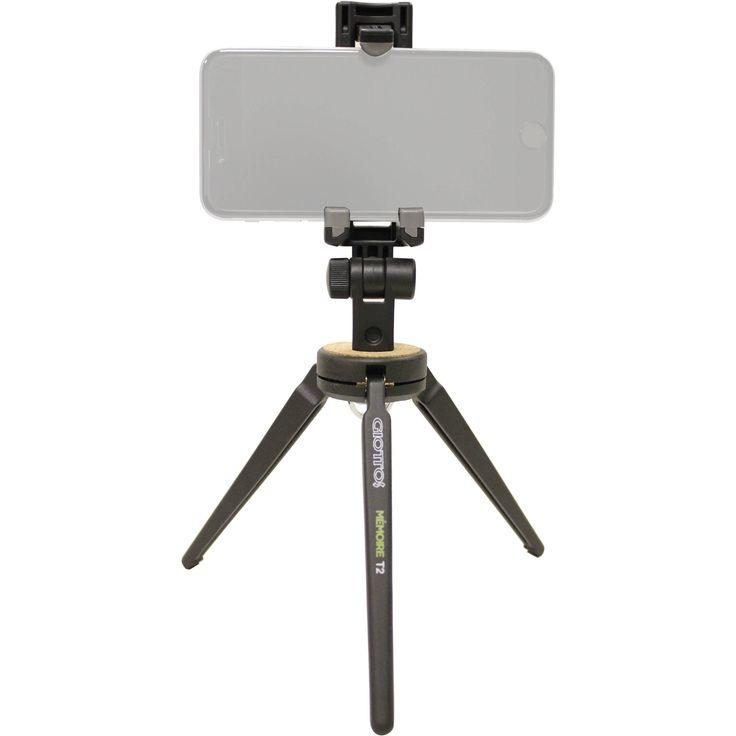 Giottos Memoire T2 Mini Tripod with Smartphone Mount
