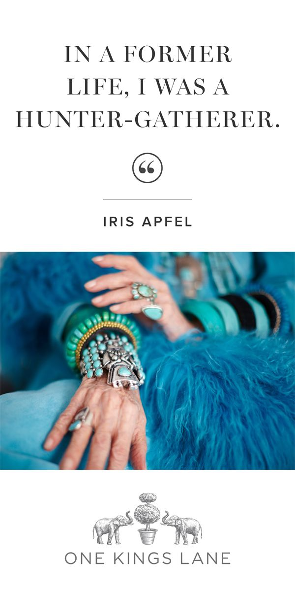 Style & Design Icon: Iris Apfel...Love it! Me, too!!!!  #IrisApfel
