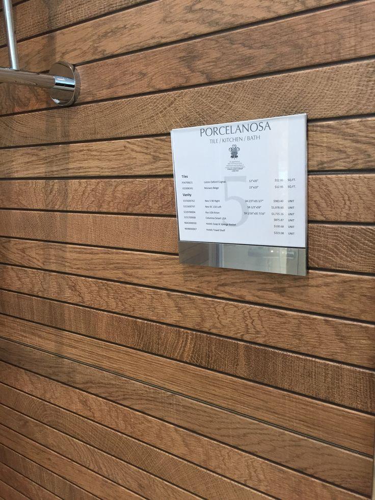 "Love This Ceramic Wood Shower Tiles 12"" X 35"" Liston"