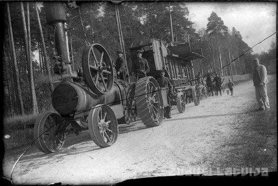 Zudusī Latvija - Kuļmašīna