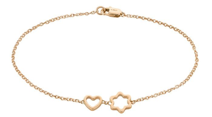 Montblanc 4810 Mignardise bracelet is a filigree and delicate tribute to the shape of the brand's unique emblem .