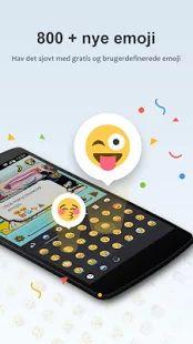GO Tastatur - Emoji, Emoticons – miniatureskærmbillede