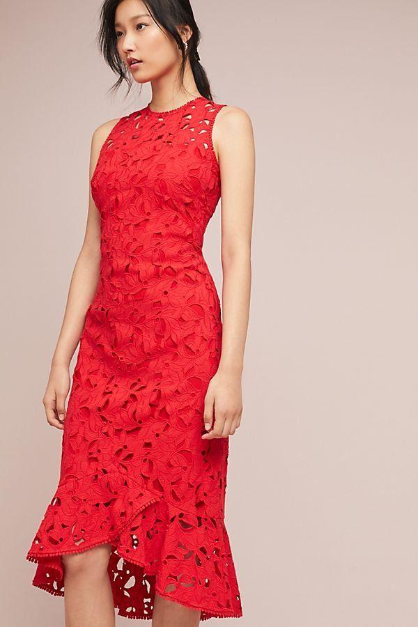 6640a02d174b Shoshanna Vivienne Lace Dress in 2019