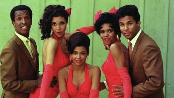 Dorian Harewood Irene Cara, Dwan Smith, Lonette McKee and Philip Michael Thomas in Sparkle.