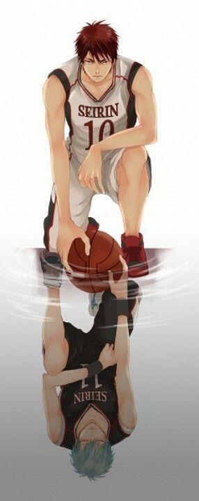 Tetsuya Kuroko & Taiga Kagami - Kuroko no Basuke,Kuroko no Basket,Anime