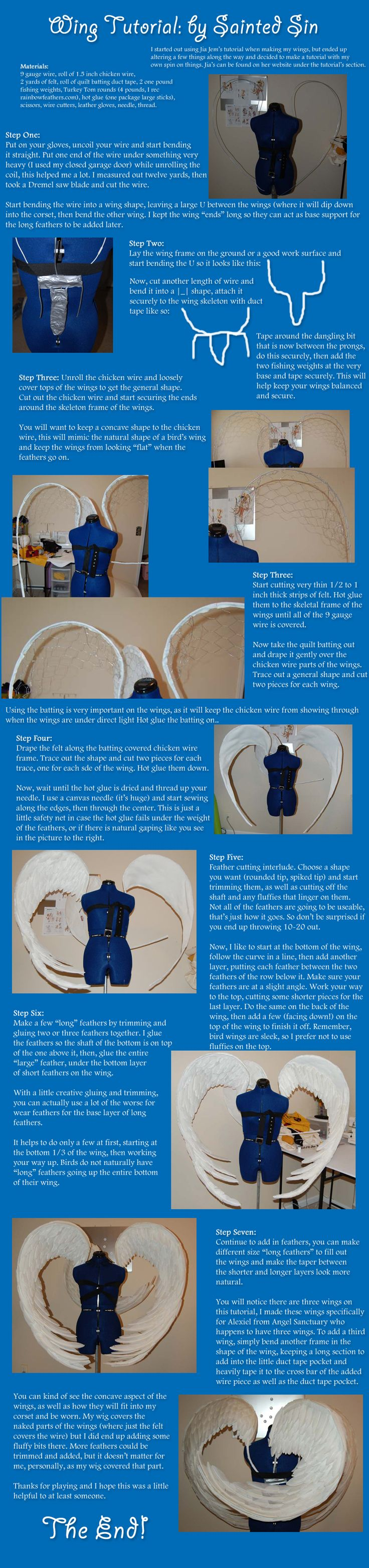 Tutorial: Corset Worn Wings by *BluEyedMatador on deviantART  @Anna Totten Totten Totten Totten Totten Lavendyre for your pegasis