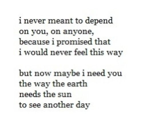 I Need Quotes About Love : ... Quotes/Meanings Pinterest Depression, Quotes about love and Quotes
