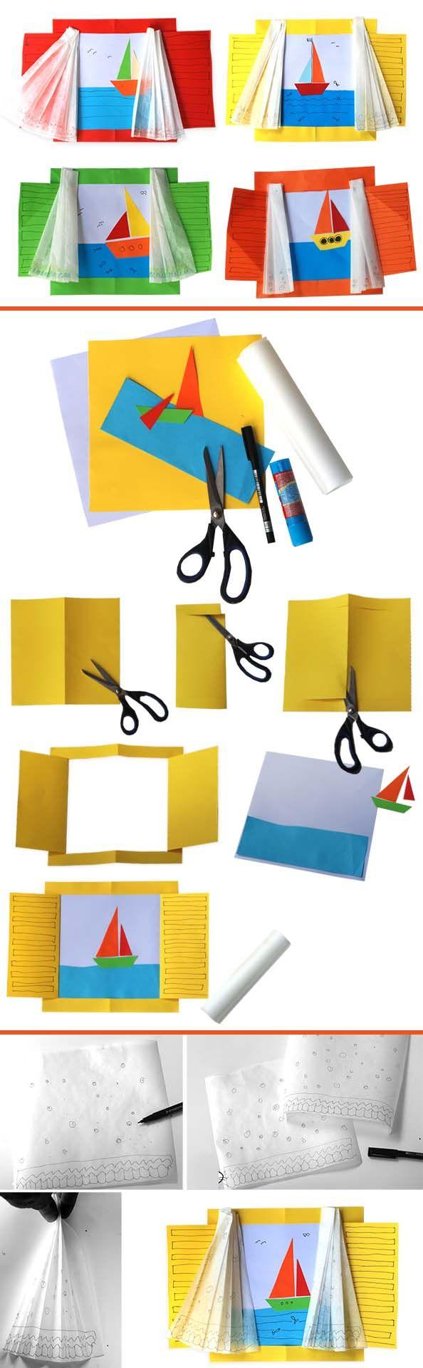 Kağıttan Pencere nasıl yapılır etkinlikleri çalışması ve örnekleri yapımı, yapılışı web sitesi sayfası yapmak.