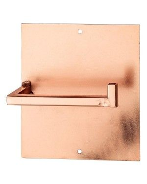 Copper Toilet Paper Holder