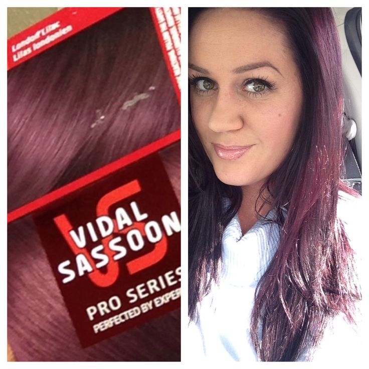 This is actually ME :) Purple hair - London lilac - Vidal Sassoon