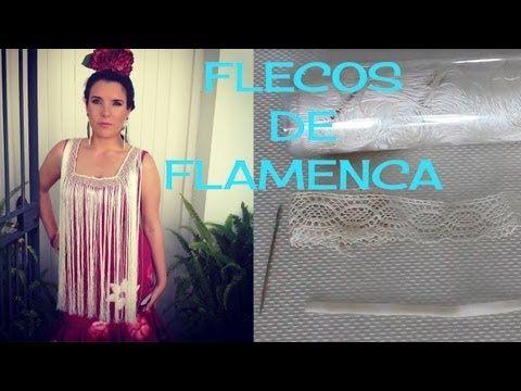 Fleco de flamenca fácil...