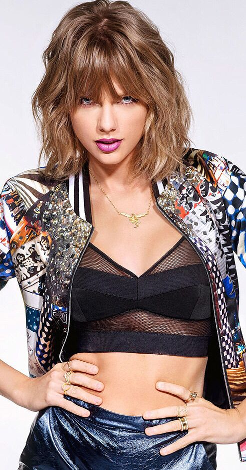 Taylor Swift photographed for the October issue of NME