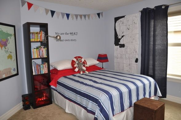 6 and 8 year old boy room - Google Search