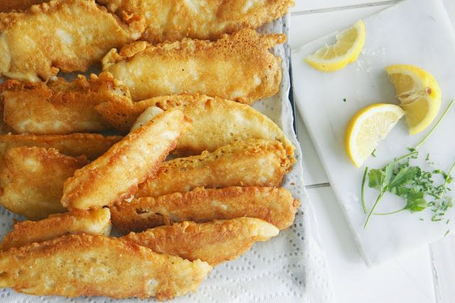 Vaikai ir Vanilė: Fish And Chips: žuvis alaus tešloje ir keptos bulvytės