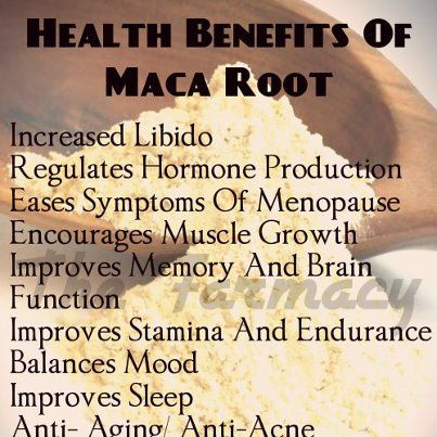 Maca Root. Just tried it for the first time in a smoothie...definitely going to be an acquired taste, but I definitely need the benefits. So I will definitely keep using it.