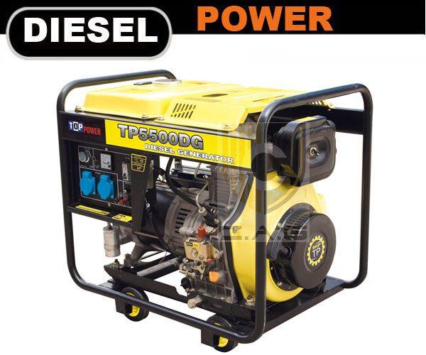 4kw Portable Diesel Generator