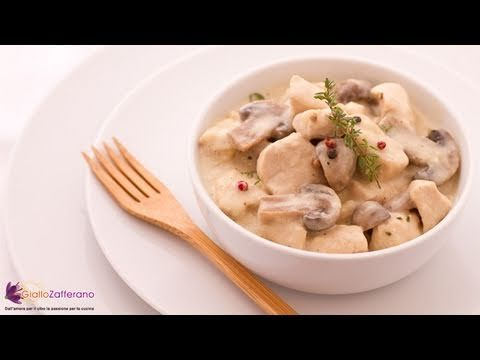Creamy chicken with mushrooms - recipe
