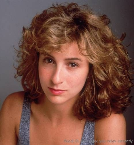 Jennifer Grey. Why did she get a nose job? It was a lovely nose.