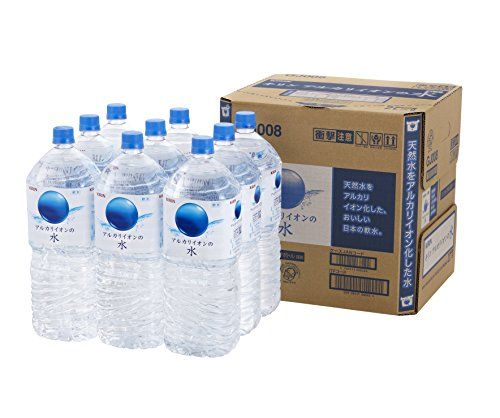 Water 2L PETX9 pieces of giraffe alkali ions