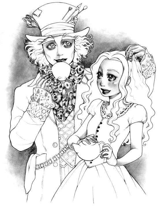 mad hatter and alice relationship marketing