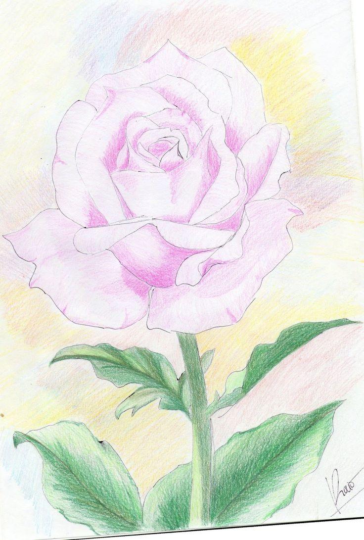 Ms de 25 ideas increbles sobre Rosa fcil de dibujar en