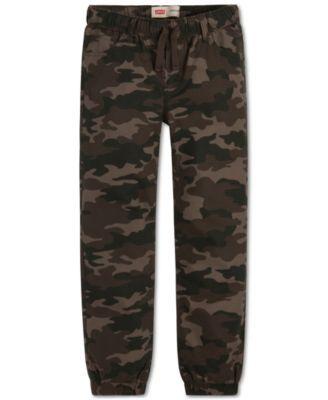 Levi's Boys Ripstop Camo Jogger Pants | macys.com