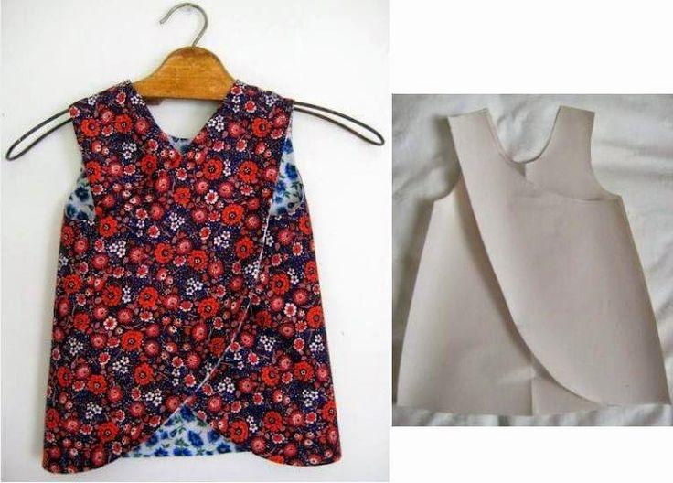 Moda e Dicas de Costura: VESTIDO DE CRIANÇA DE COSTURA FÁCIL