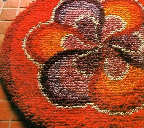 Fai da te Il tappeto con il nodo Rya Tappeto fai da te