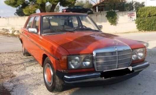 Mercedes 240 Diesel Typ 123 1979 Oldtimer Angemeldet