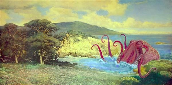 Boring landscape?  Add an octopus!