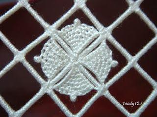 Whitework Embroidery: Reticello Embroidery Sachet -- Petals