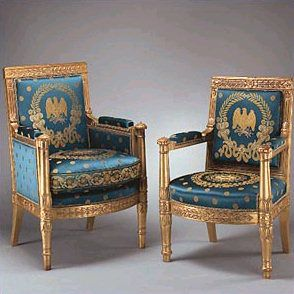 White House chairs - Pierre-Antoine Bellangé (after the fire of 1814)