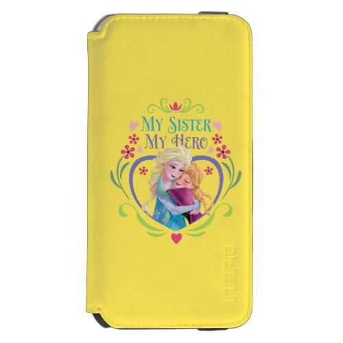 My Sister My Hero Incipio Watson™ iPhone 6 Wallet Case  Princess  Elsa and Anna Products from Disney Frozen  https://www.artdecoportrait.com/product/my-sister-my-hero-incipio-watson-iphone-6-wallet-case/  #frozen #disney #Elsa #Anna #SnowQueen #disneyprincess #gift #birthday #princess   More cool Disney Princess Gifts Ideas at www.artdecoportrait.com/shop