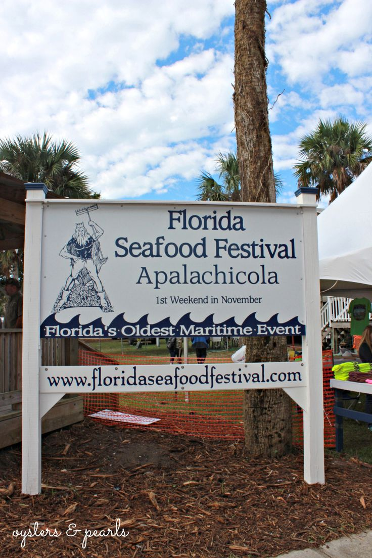 Florida Seafood Festival in Apalachicola, Florida is the First Weekend in November   Oysters & Pearls
