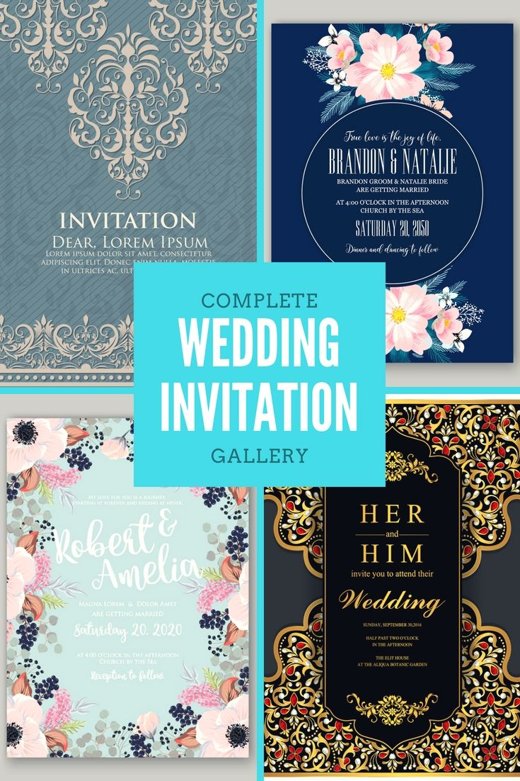 Cost free Wedding Invitations Examples Start Creating