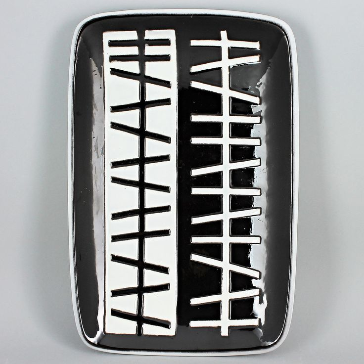 Ingrid Atterberg (Pronto 1958) Era-typical Dish in Relief