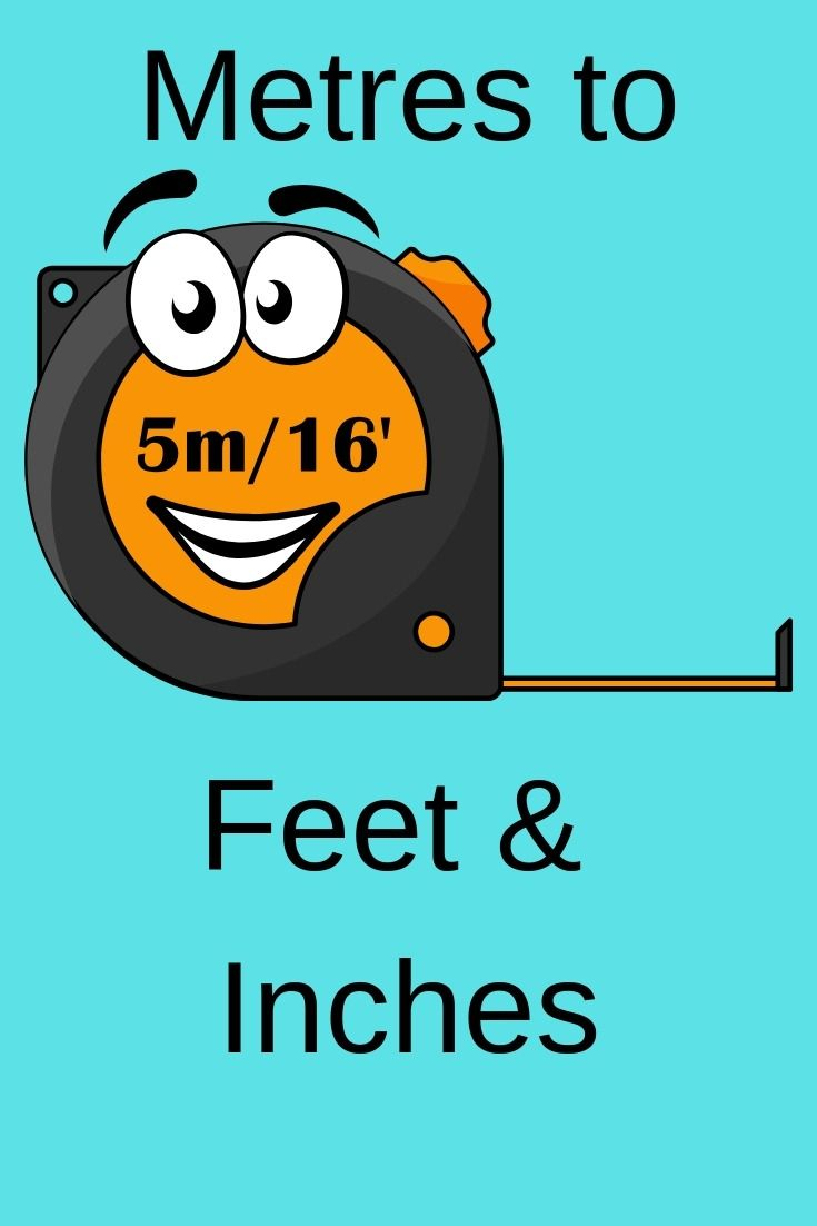 Inches to metres