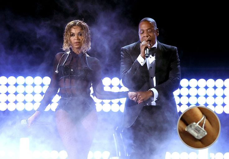 Beyonce's wedding ring valued at $5 million.