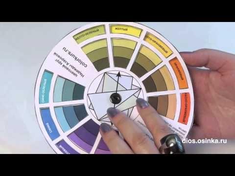 Профессиональный цветовой круг: сделай сама за 30 минут!