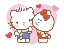 Hello Kitty & Dear Daniel GIF