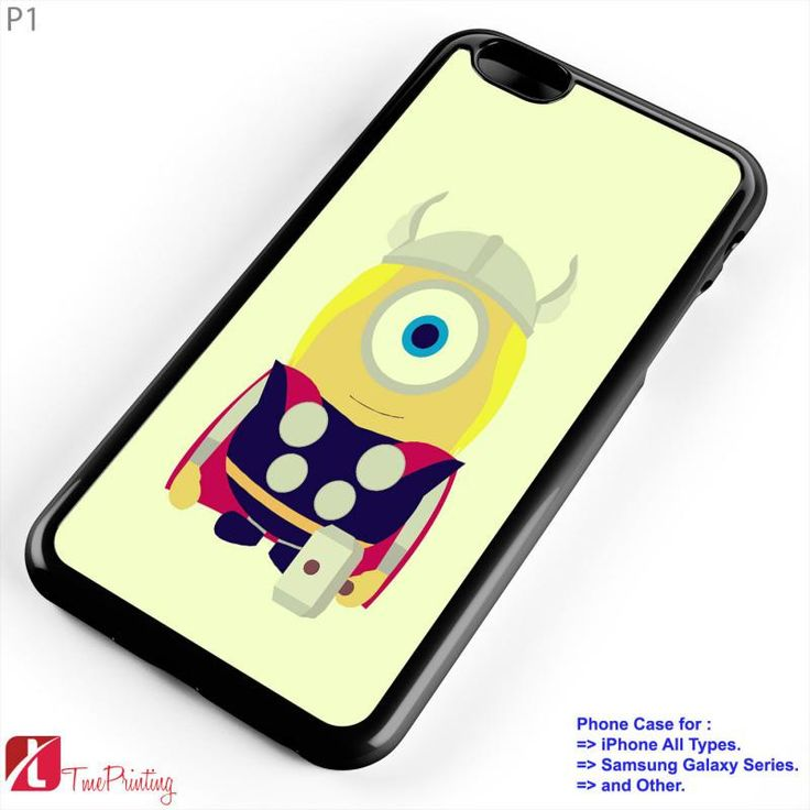 Minion avengers - Personalized iPhone 7 Case, iPhone 6/6S Plus, 5 5S SE, 7S Plus, Samsung Galaxy S5 S6 S7 S8 Case, and Other