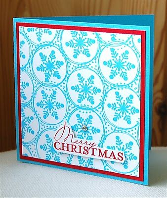 Season of Joy.  Stampin' Up ideas and supplies from Vicky at Crafting Clare's Paper Moments