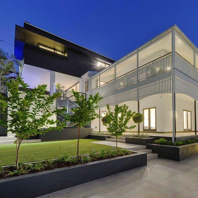 skillion roof design architecture queenslander - Google Search