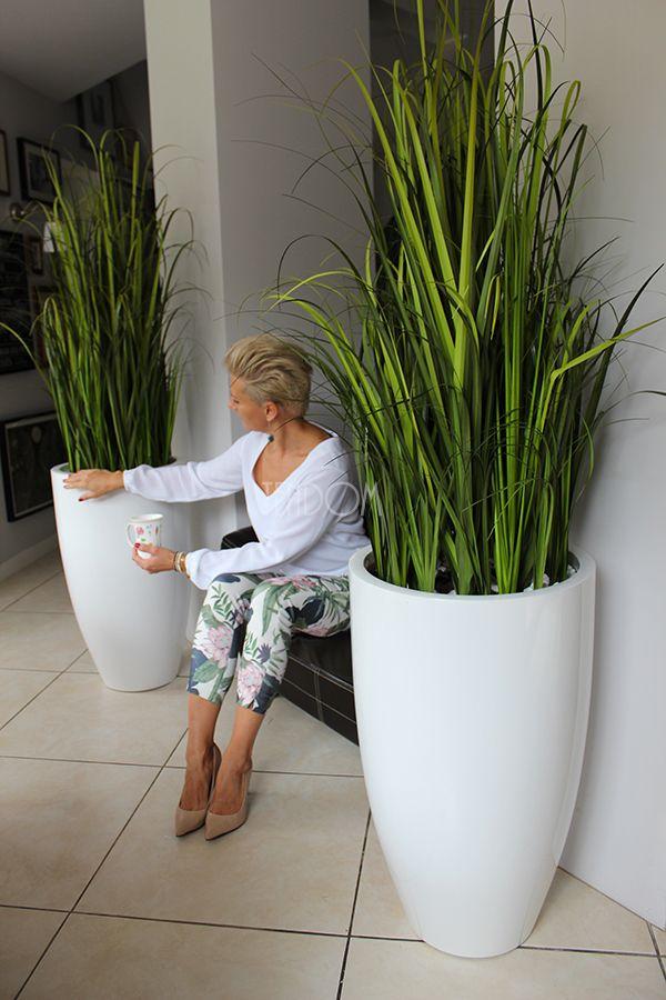 Sztuczne Trawy W Donicach Z Fiberglass Plant Decor Plant Decor Indoor House Plants Decor