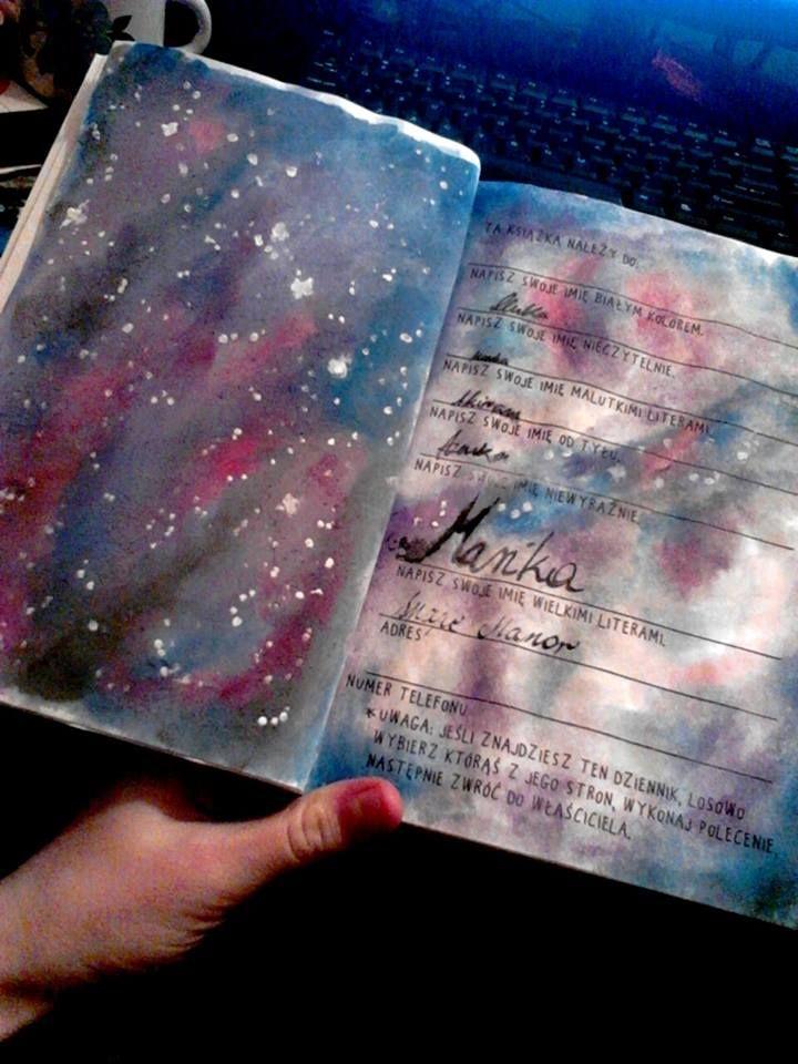 Podesłała Marika Świątek #zniszcztendziennikwszedzie #zniszcztendziennik #kerismith #wreckthisjournal #book #ksiazka #KreatywnaDestrukcja #DIY